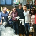 Volunteering at the Parkdale Food Bank